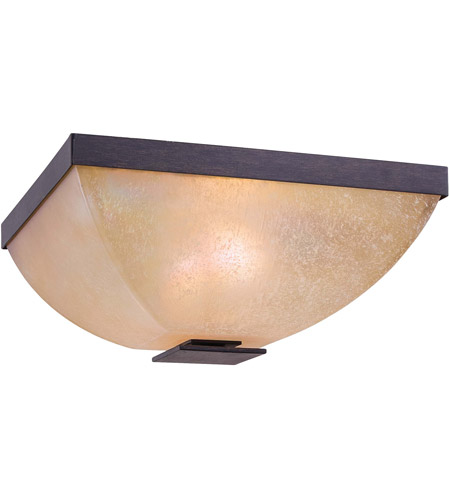 Minka-Lavery 6277-357 Lineage 2 Light 13 inch Iron Oxide Flushmount Ceiling Light photo