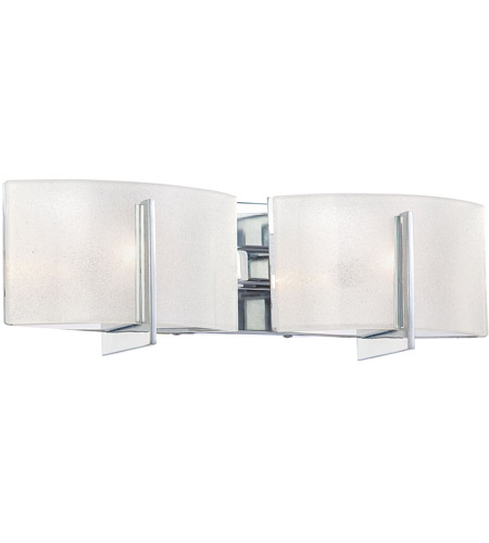 Minka-Lavery Clarte 2 Light Bath in Chrome 6392-77 photo