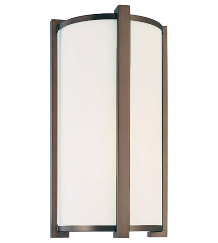 Minka-Lavery 6442-267-PL Signature 1 Light 8 inch Dark Brushed Bronze Sconce Wall Light photo
