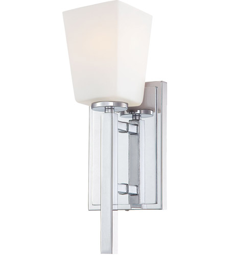 Minka-Lavery 6540-77 City Square 1 Light 5 inch Chrome Wall Sconce Wall Light photo