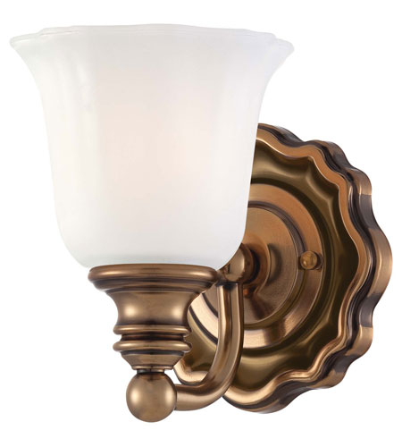 Minka-Lavery Felice 1 Light Bath in Vintage Cheshire Gold 6591-289