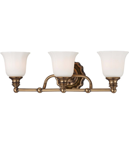 Minka-Lavery Felice 3 Light Bath in Vintage Cheshire Gold 6593-289 photo