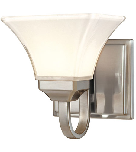 Minka-Lavery Agilis 1 Light Bath in Brushed Nickel 6811-84 photo