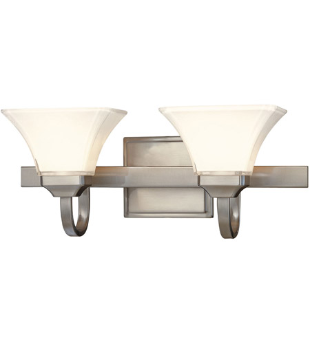 Minka-Lavery Agilis 2 Light Bath in Brushed Nickel 6812-84 photo