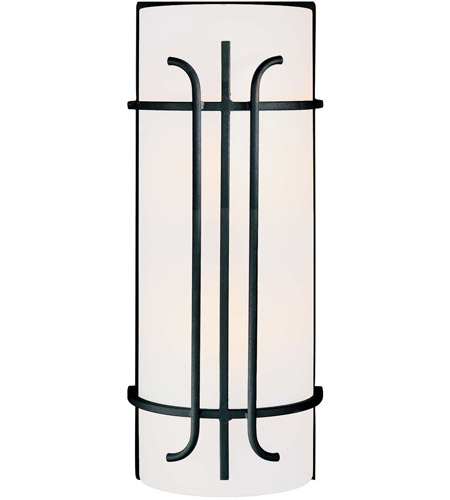 Minka-Lavery Iconic 2 Light Sconce in Black 6872-66 photo