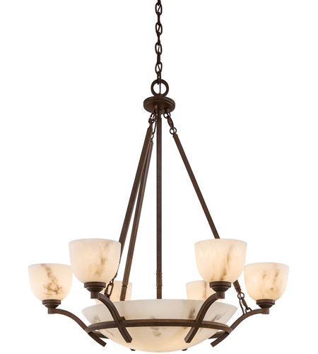 Minka-Lavery 688-14 Minka-Lavery Calavera 9 Light Chandelier in Nutmeg 688-14 photo