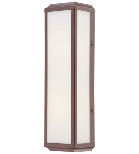 Minka-Lavery Daventry 2 Light Sconce in Harvard Court Bronze/Polished Nickel 6912-281 photo