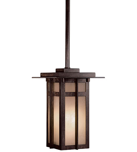 The Great Outdoors by Minka Delancy 1 Light Pendant in Iron Oxide 71190-A357-PL photo