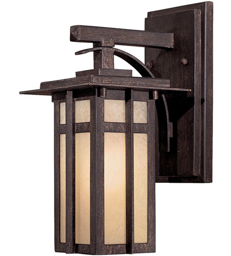 Minka-Lavery 71191-A357-PL Delancy 1 Light 12 inch Iron Oxide Outdoor Wall Mount photo