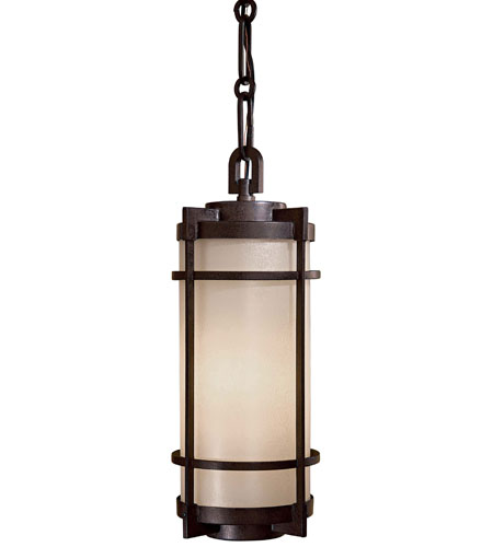 The Great Outdoors by Minka Andrita Court 1 Light Hanging in Textured French Bronze 72024-A179-PL photo