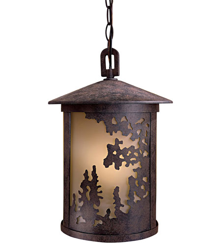 Minka-Lavery 72034-179-PL Sunset Ranch 1 Light 10 inch Textured French Bronze Outdoor Hanging photo