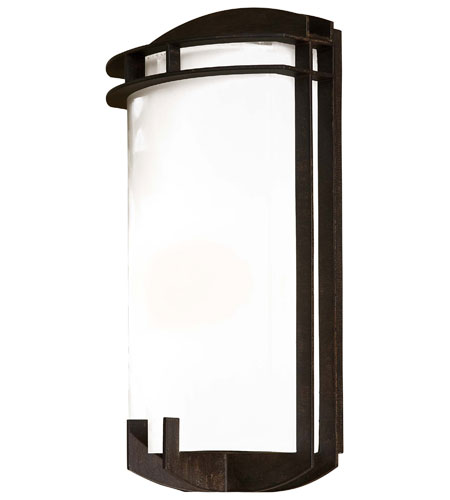Minka-Lavery 72102-357-PL Signature 1 Light 15 inch Iron Oxide Outdoor Pocket Lantern photo