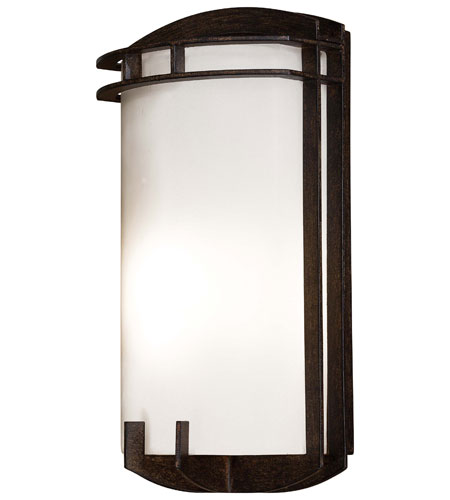 Minka-Lavery 72103-357-PL Signature 2 Light 20 inch Iron Oxide Outdoor Pocket Lantern photo