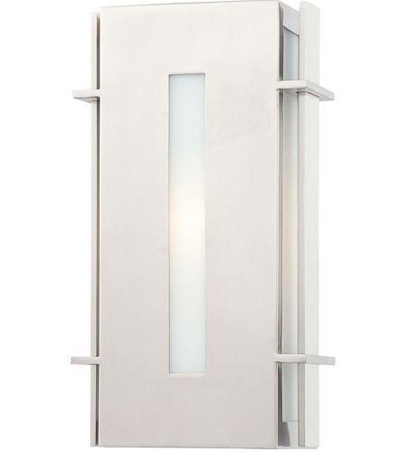 Minka-Lavery 72121-144-PL Colva 1 Light 12 inch Brushed Stainless Steel Outdoor Pocket Lantern photo