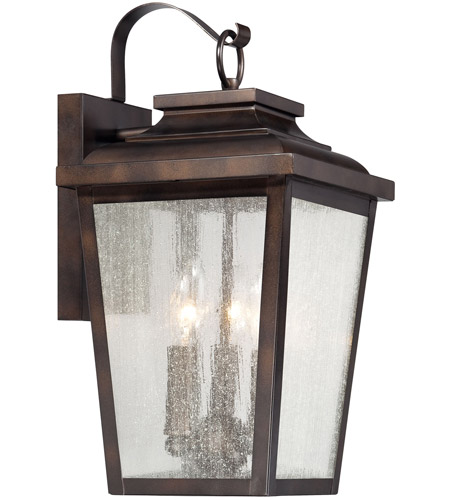 Minka-Lavery 72172-189 Irvington Manor 3 Light 17 inch Chelesa Bronze Outdoor Wall Mount in Incandescent, Great Outdoors photo