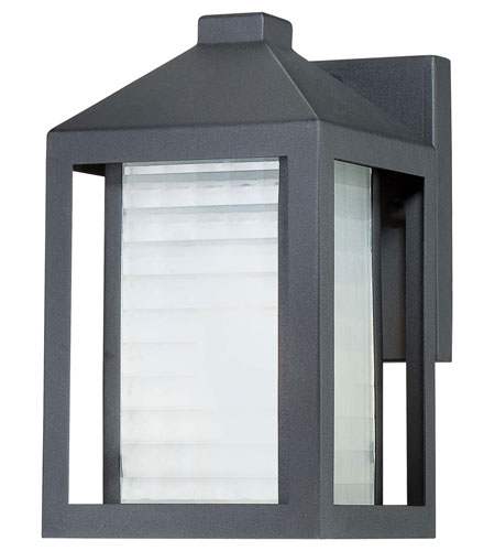 The Great Outdoors by Minka Summit Road 1 Light Outdoor Wall Lantern in Black 72271-66 photo