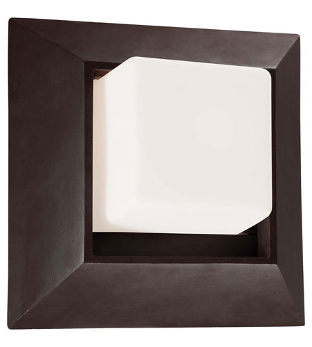 The Great Outdoors by Minka Casona Square 1 Light Wall Bracket in Dorian Bronze 72341-615B photo