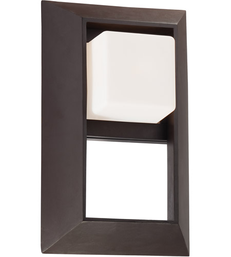 Minka-Lavery 72342-615B Casona Square 1 Light 13 inch Dorian Bronze Outdoor Wall Bracket photo