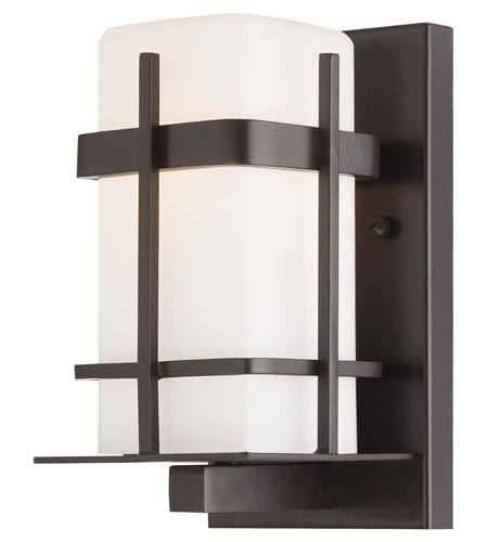 The Great Outdoors by Minka Sterling Heights 1 Light Wall Bracket in Dorian Bronze 72351-615B-PL photo