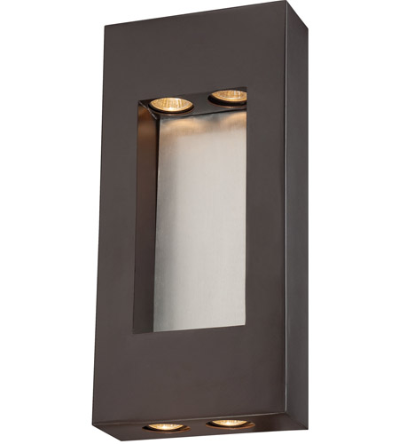 The Great Outdoors by Minka Geox 4 Light Outdoor Pocket Lantern in Dorian Bronze 72372-615B photo