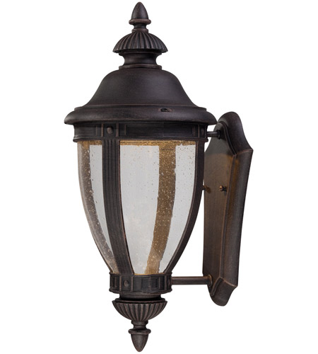 Minka-Lavery 72411-51A-L Wynterfield LED 16 inch Burnt Rust Outdoor Wall Light, The Great Outdoors photo thumbnail