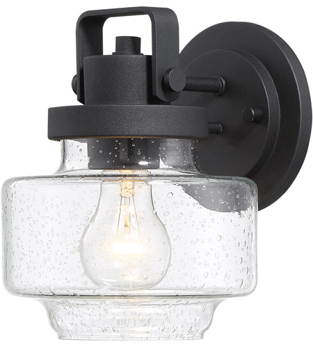 Minka-Lavery 72771-66 Rosecrans 1 Light 8 inch Black Outdoor Wall Lantern, The Great Outdoors photo thumbnail
