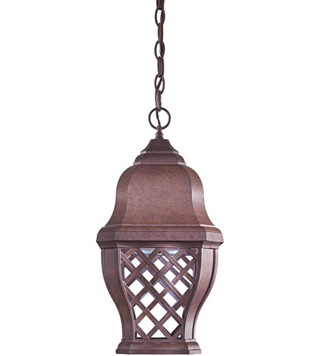 The Great Outdoors by Minka Arbor Hill 1 Light Hanging in Antique Bronze 8014-91-PL photo