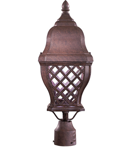 The Great Outdoors by Minka Arbor Hill 1 Light Pier Mount in Antique Bronze 8016-91-PL photo