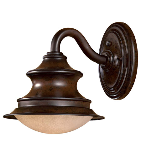 The Great Outdoors by Minka Vanira Place 1 Light Wall Lamp in Windsor Rust 8121-A188-PL photo