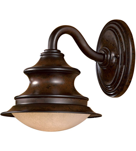 Minka-Lavery 8121-A188-PL Vanira Place 1 Light 11 inch Windsor Rust Outdoor Wall Mount photo