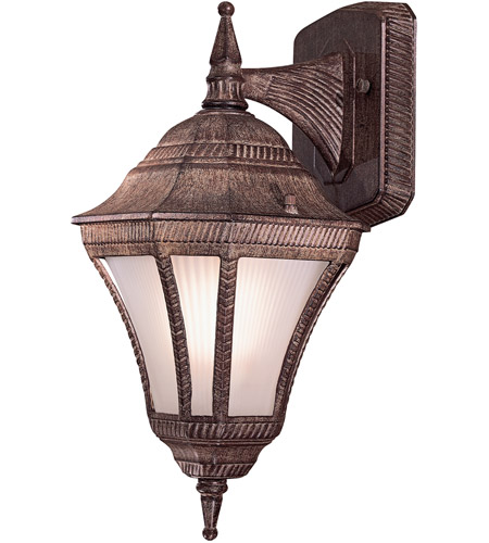 Minka-Lavery 8201-61-PL Segovia 1 Light 14 inch Vintage Rust Outdoor Wall Mount photo