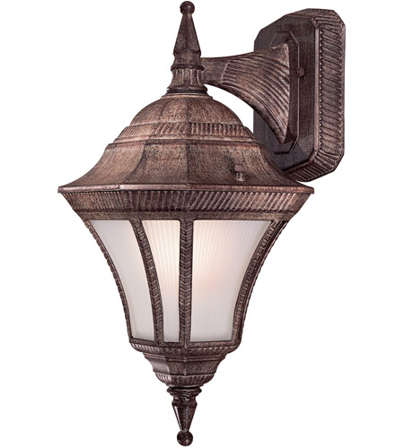 Minka-Lavery 8202-61-PL Segovia 1 Light 17 inch Vintage Rust Outdoor Wall Mount photo