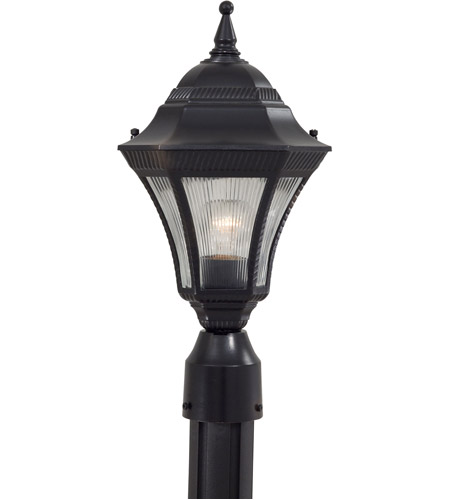 The Great Outdoors by Minka Segovia 1 Light Post Light in Heritage 8206-94 photo