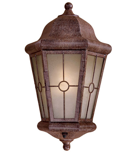 The Great Outdoors by Minka Montellero 1 Light Outdoor Pocket Lantern in Vintage Rust 8210-A61-PL photo