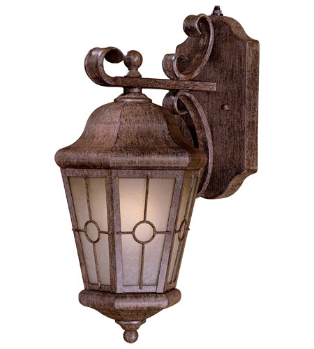 Minka-Lavery 8212-A61-PL Montellero 1 Light 18 inch Vintage Rust Outdoor Wall Lamp photo