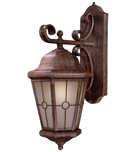 The Great Outdoors by Minka Montellero 1 Light Wall Lamp in Vintage Rust 8213-A61-PL photo