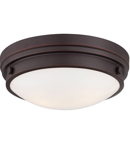 Minka-Lavery Signature 2 Light Flushmount in Lathan Bronze 823-167 photo