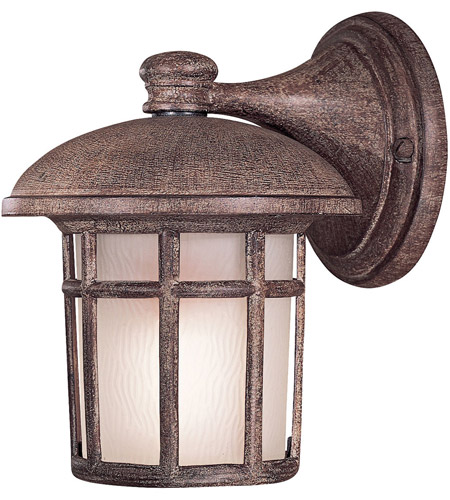 Minka-Lavery 8251-61-PL Cranston 1 Light 9 inch Vintage Rust Outdoor Wall in GU24 photo