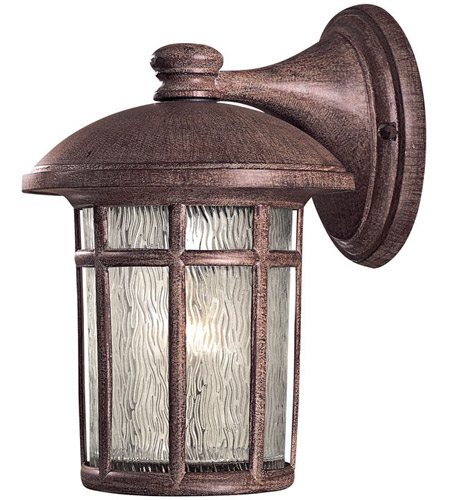 The Great Outdoors by Minka Cranston 1 Light Outdoor Wall in Vintage Rust 8252-61 photo