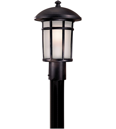 Minka-Lavery 8256-94-PL Cranston 1 Light 15 inch Heritage Post Light in GU24 photo