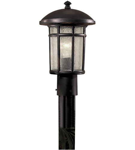 The Great Outdoors by Minka Cranston 1 Light Post Light in Heritage 8256-94 photo
