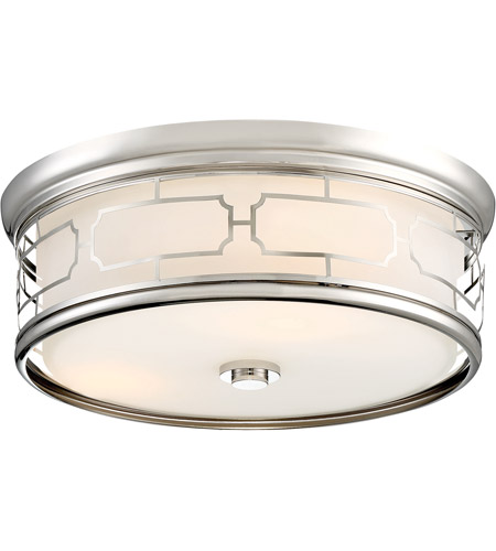 Minka-Lavery 826-613-L ML LED 16 inch Polished Nickel Flush Mount Ceiling Light photo thumbnail