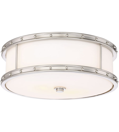 Minka-Lavery 827-84-L Signature LED 6 inch Brushed Nickel Flush Mount Ceiling Light photo thumbnail