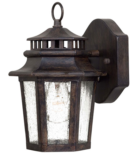 Minka-Lavery 8271-A357 Wickford Bay 1 Light 11 inch Iron Oxide Outdoor Wall Lamp in Incandescent photo