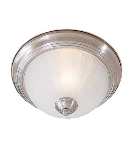 Minka-Lavery Signature 1 Light Flushmount in Brushed Nickel 828-84 photo