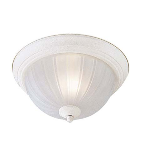 Minka-Lavery 828-86 Signature 1 Light 12 inch White Flushmount Ceiling Light in Incandescent photo