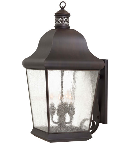 The Great Outdoors by Minka Glen Allen 4 Light Outdoor Wall in Roman Bronze 8553-57 photo