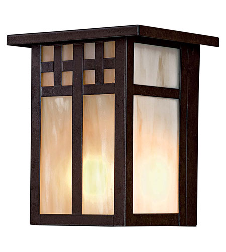 The Great Outdoors by Minka Scottsdale II 1 Light Outdoor Pocket Lantern in Textured French Bronze 8601-A179-PL photo