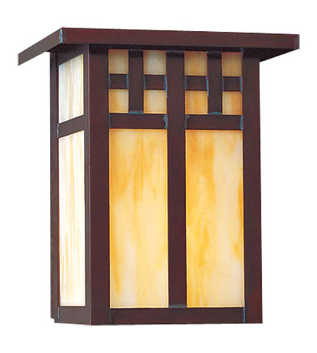 Minka-Lavery 8601-52 Scottsdale 1 Light 7 inch Copper Verde Outdoor Wall in Incandescent photo