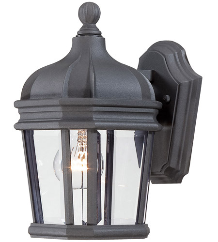 Minka-Lavery Black Harrison Outdoor Wall Lights